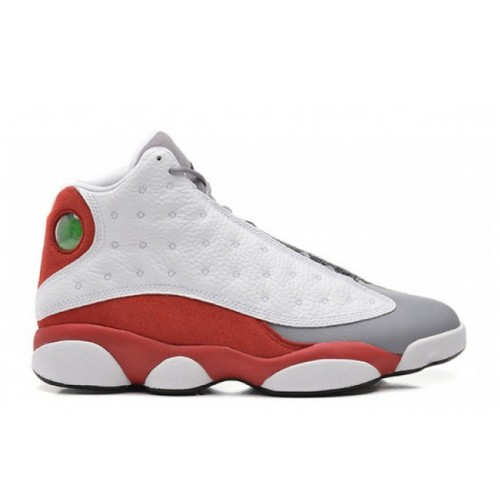 Authentic 414571-126 Air Jordan 13 Retro White/Black-Gym Red-Cement Grey
