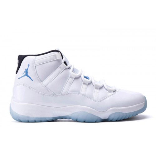 Authentic 378037-117 Air Jordan 11 Retro White/Black-Legend Blue Preschool's Shoe