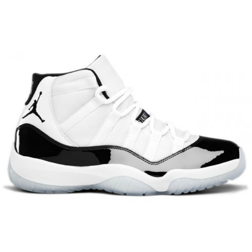 378037-107 Air Jordan Retro 11 (XI) Concord 2011 White Black Dark Concord A11007