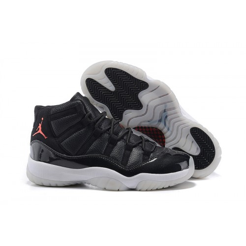 Authentic 378037-002 Air Jordan 11 Retro Black/Gym Red-White-Anthracite (Men Women)
