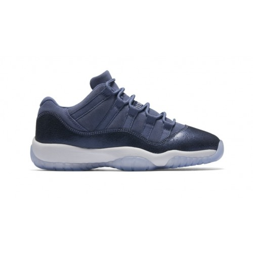 "Air Jordan 11 Retro Low GG ""Blue Moon"" Blue Moon/Midnight Navy-White 580521-408"