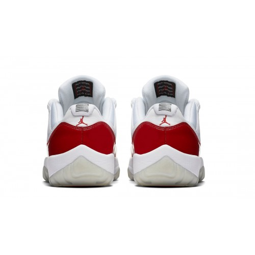 "Authentic 528895-102 Air Jordan 11 Retro Low ""Cherry"" White/Varsity Red"