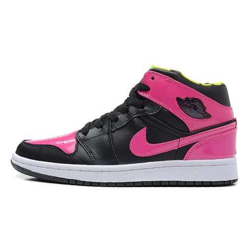 364771-061 Air Jordan 1 Retro Womens Phat Black Peach Kelly Shoes