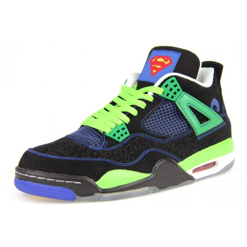 308497-015 Air Jordan 4 Retro DB Doernbecher Superman (Women Men Girls Gs)