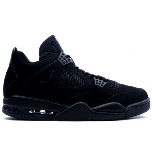 308497-002 Air Jordan 4 Black Cat Black Black A04002