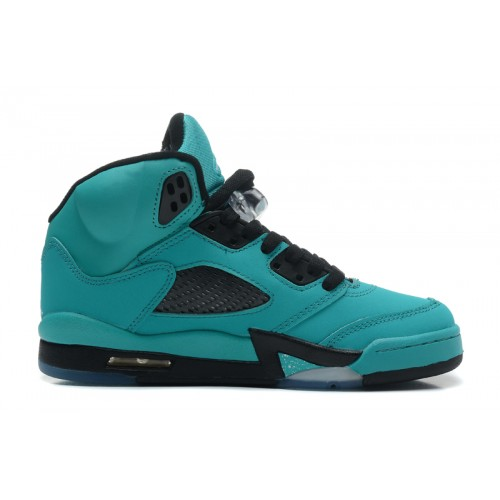 440888-090 Air Jordan 5 Retro Sky Blue Black (Women Men Gs Girls)