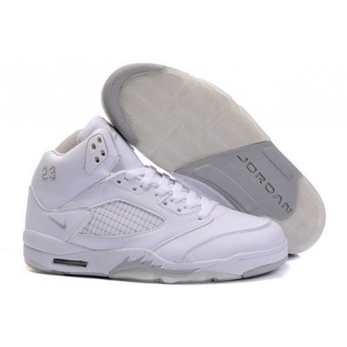 Air Jordan V 5 Retro white A05017