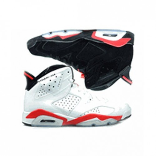 398850-901 Air Jordan VI 6 Infrared Pack Black Infrared & White Infrared A06014