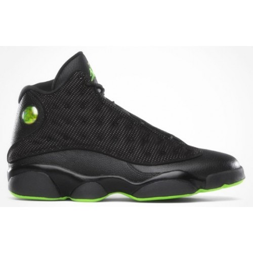 310004-031 Air Jordan 13 (XIII) Retro Black Altitude Green A13004