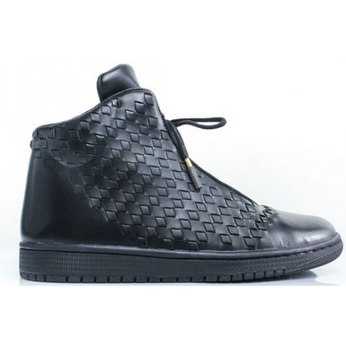 Authentic 689480-010 Jordan Shine Black/Black