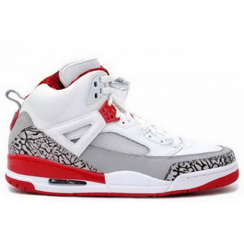 315371-164 Air Jordan Spizike White Grey Fire Red A23014